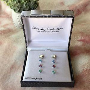 Charming Inspirations Swarovski crystal earrings